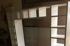 top and sides