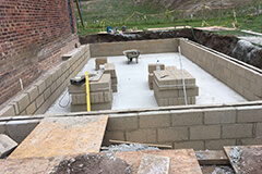 pool room foundation